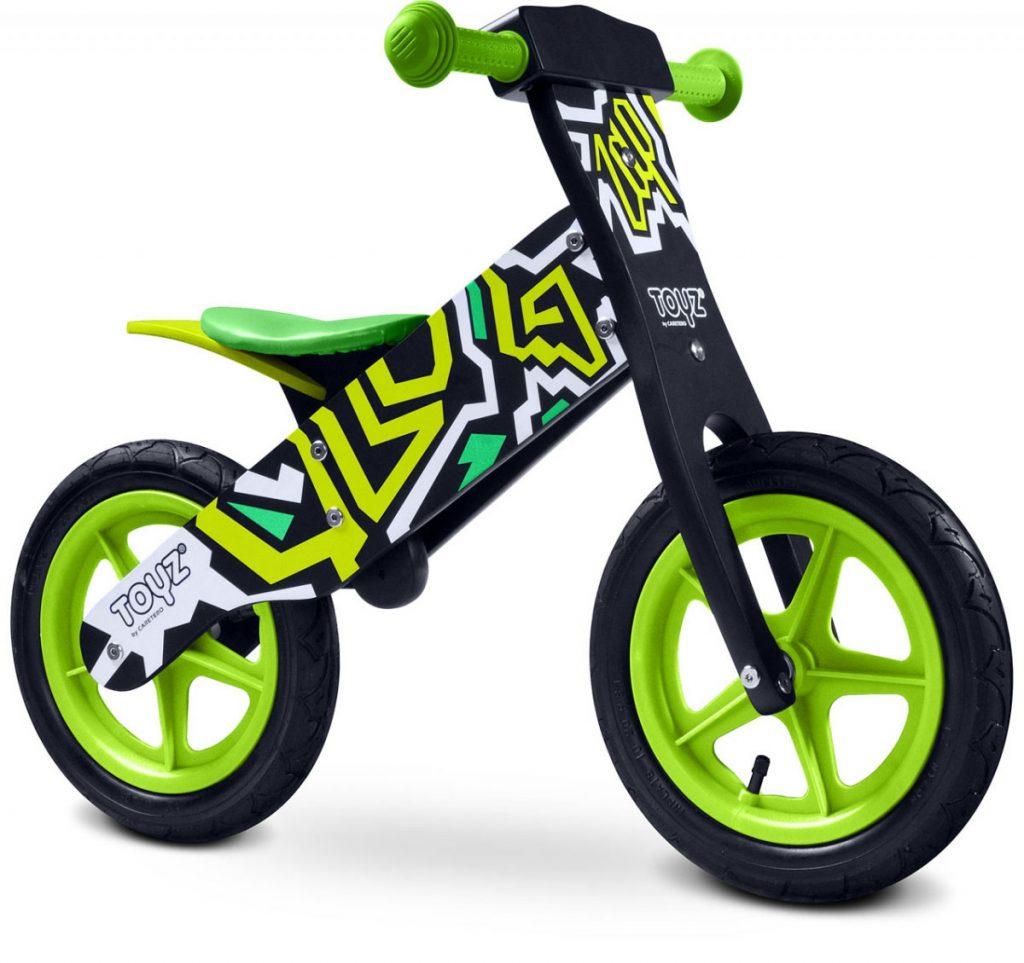Drewniany rowerek biegowy Caretero Zap